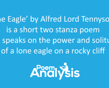 The Eagle by Alfred Lord Tennyson Summary