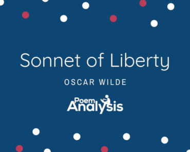 Sonnet to Liberty by Oscar Wilde
